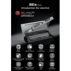Arrowmax SES pro smart motion electric screwdriver with aluminum case (34 bits)