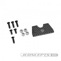Support carbone Tekno NT48 2.8 pour carrosserie F2 Truggy Bruggy 2955