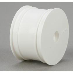 TLR7100 Rear Wheel, White (2): 22 TLR7100  RSRC