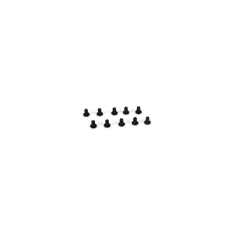 Button Head Screws, M3 x 5mm (10) TLR5900