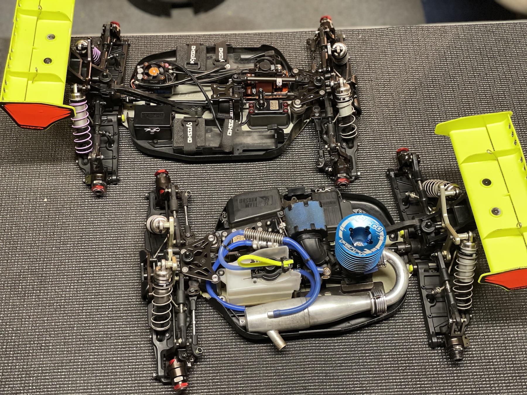 Kyosho Inferno MP10 et MP10e Reno Savoya